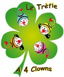 logo trèfle 4 clown
