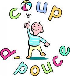 Logo association coup d pouce enfants cancer bourgogne